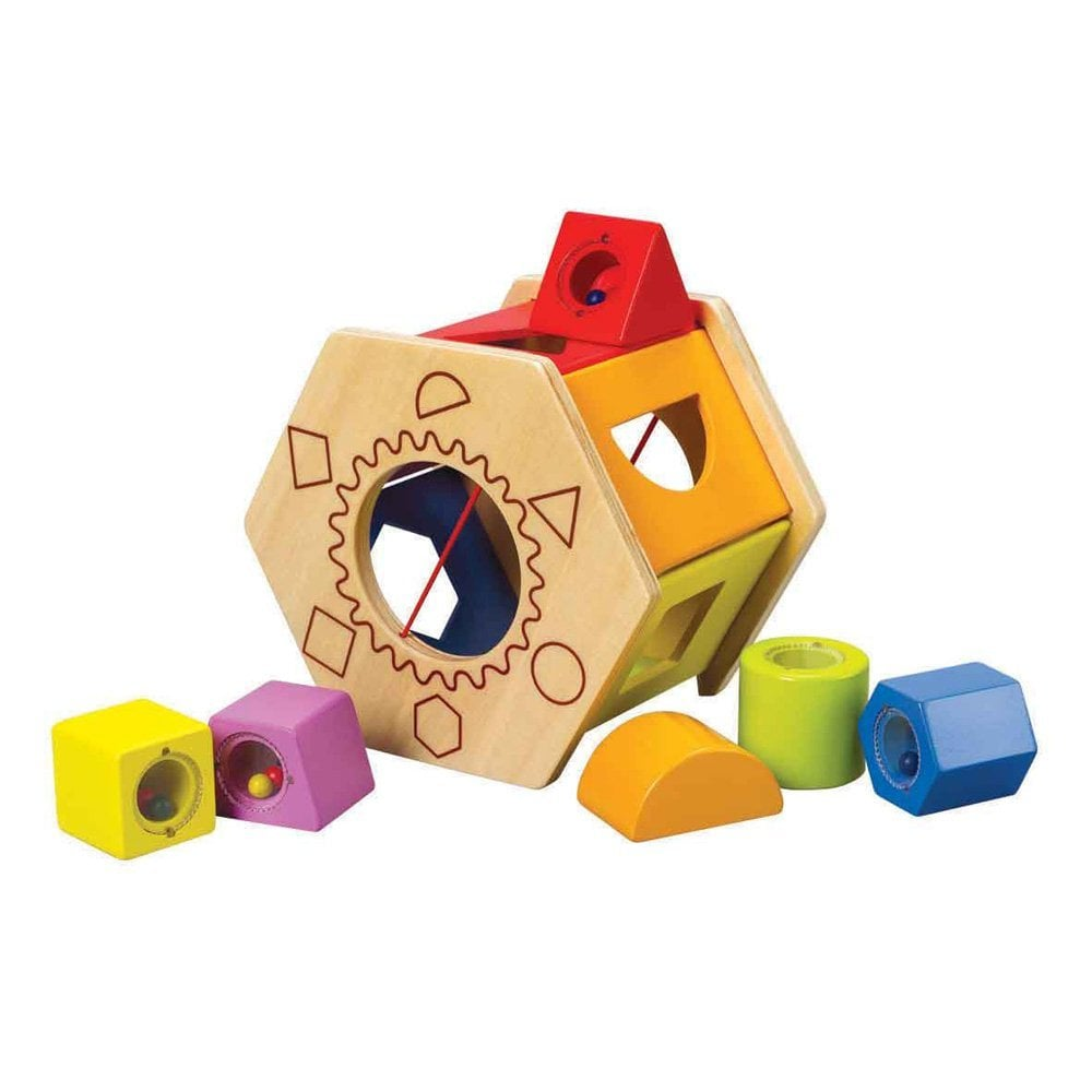 Educo Shake 'n Match Shape Sorter ($16)