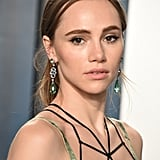 Suki Waterhouse at the Vanity Fair Oscars Afterparty 2020