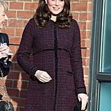 Kate Middleton Seraphine Maternity Coat