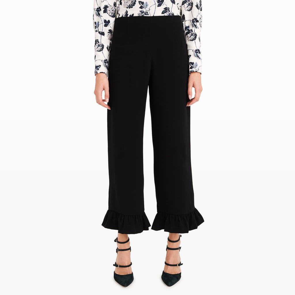 Club Monaco Brionia Ruffled Pants ($290)