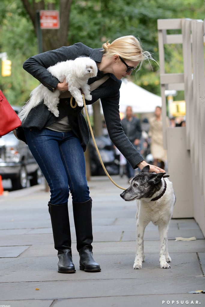 Leighton Meester on the Gossip Girl Set in NYC   Pictures