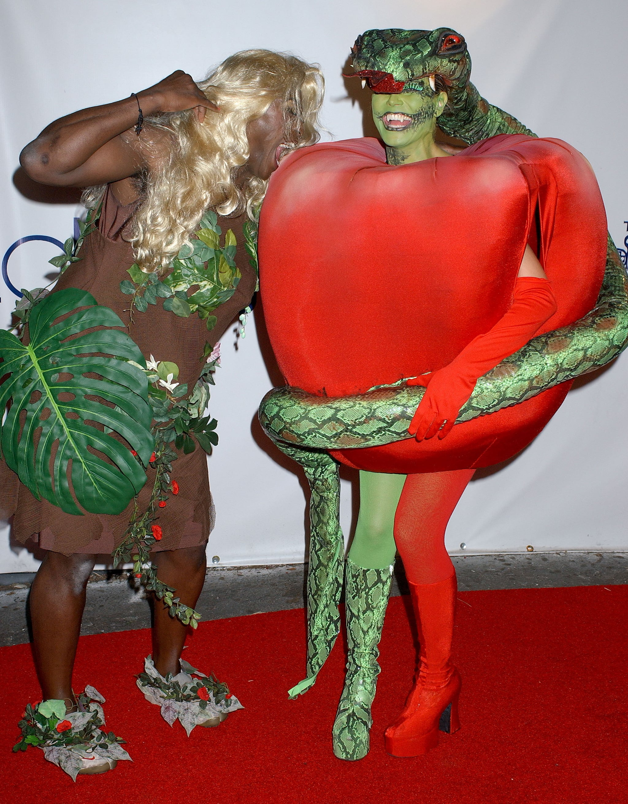Heidi Klum Seal Halloween Costume.Heidi Klum And Seal 350 Celebrity Halloween Costumes That Are Hilarious Spooky And Downright Stylish Popsugar Celebrity Photo 272