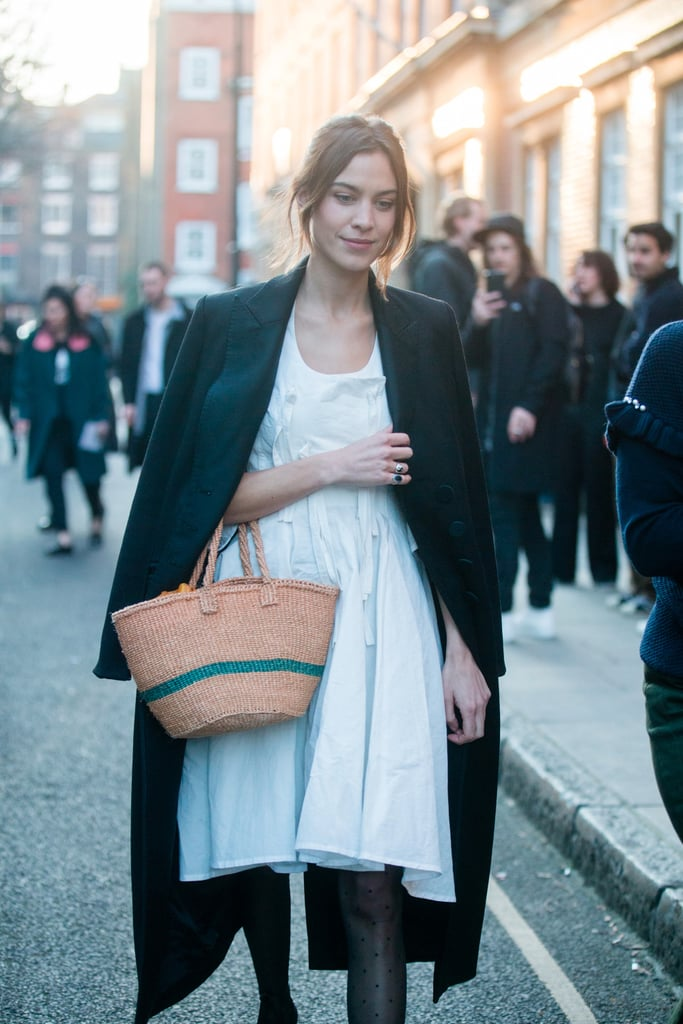 Alexa Chung Has Worked Out How to Dress For Cooler Weather; Let's All Take Note