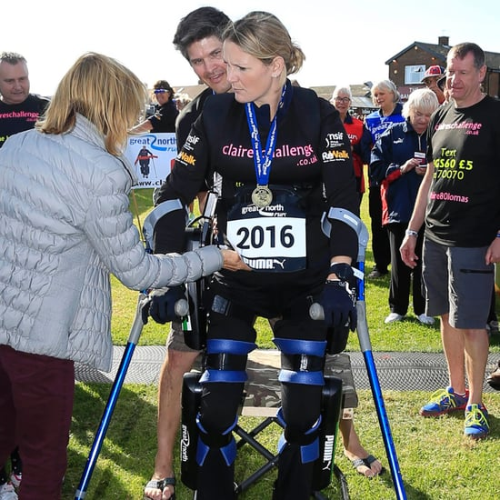 Claire Lomas Completes Great North Run in Bionic Suit