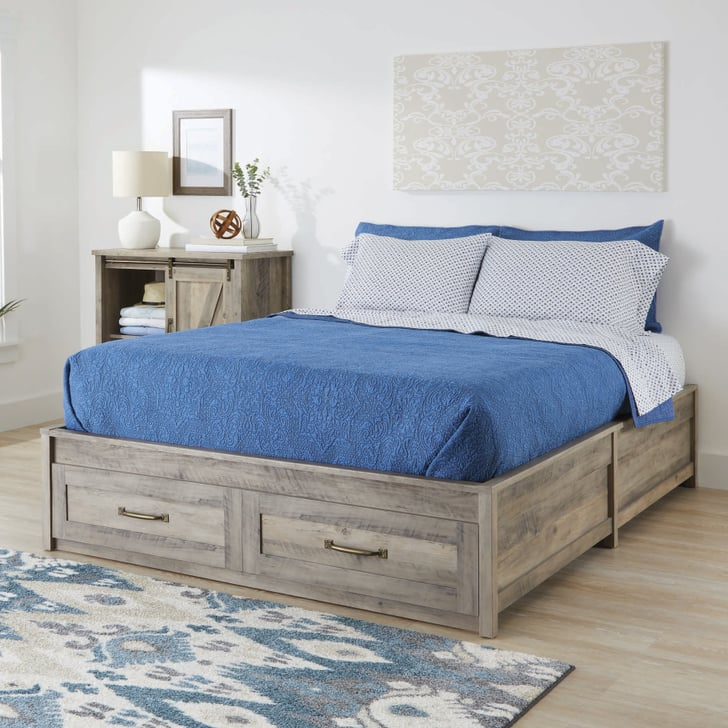 Better homes gardens modern farmhouse queen platform bed - Best platform beds with storage ...