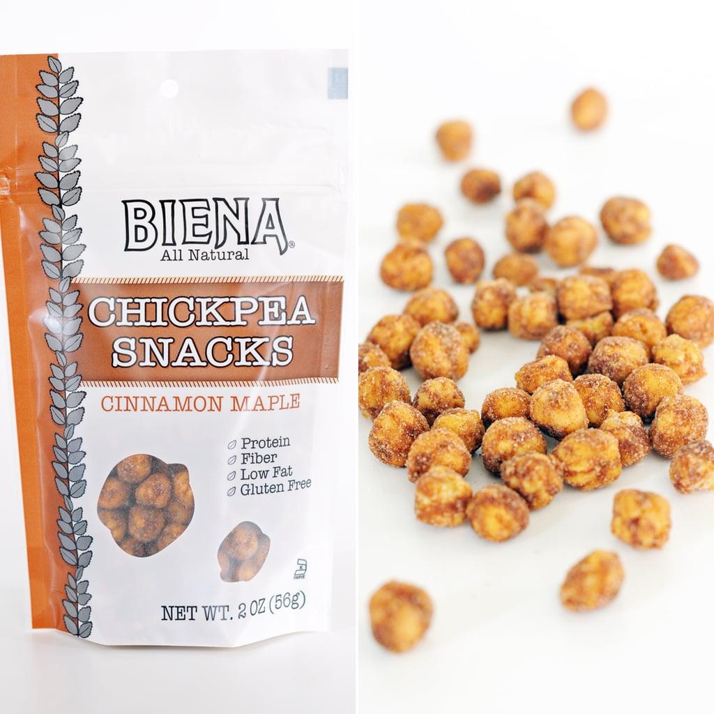 Biena Cinnamon Maple Chickpea Snacks