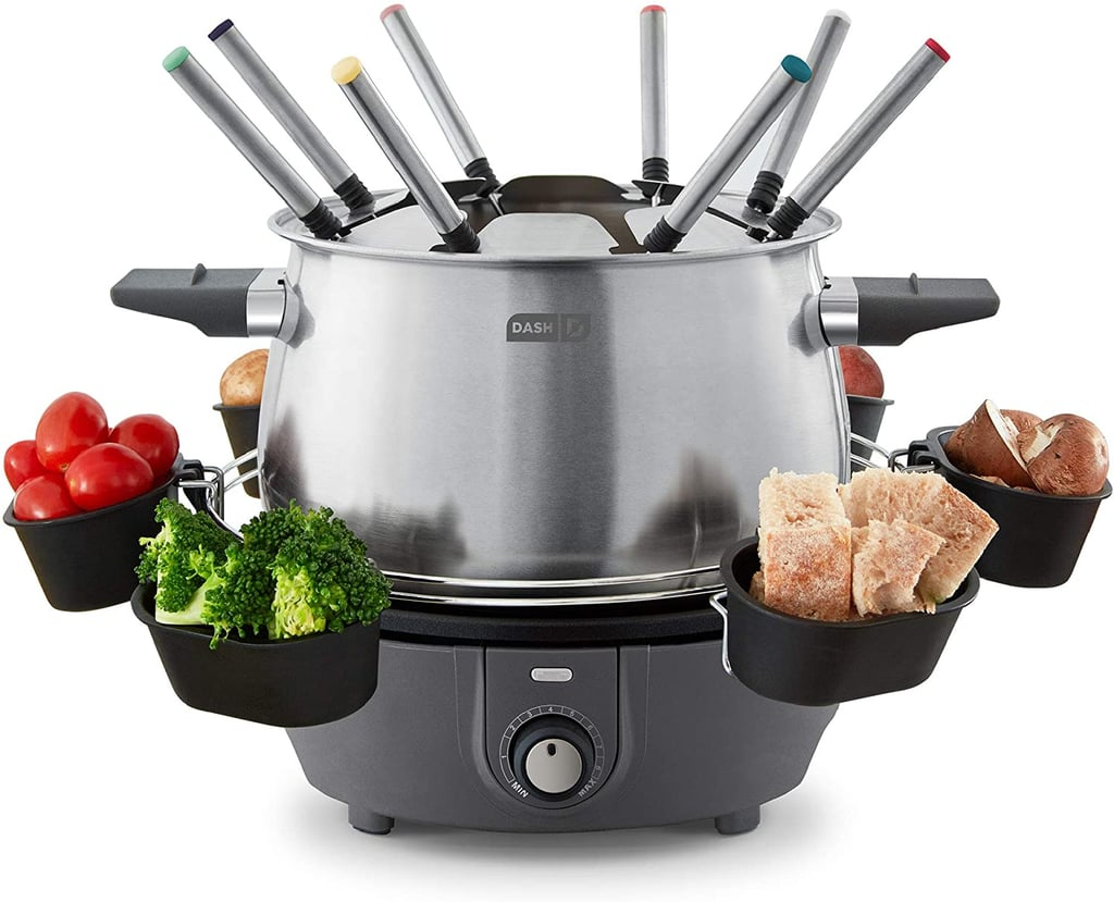 For Cheese and Chocolate Lovers: Dash Deluxe Stainless Steel Fondue Maker