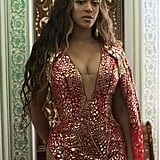 Beyoncé's Red Dress at Wedding in India