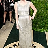 Amy Adams arrived at the Vanity Fair Oscar party.
