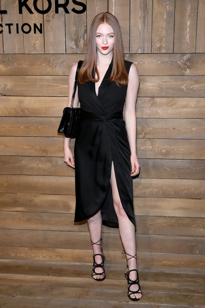 Larsen Thompson at the Michael Kors Fall 2020 Show