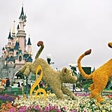 Disneyland Paris in Marne-la-Vallée, France
