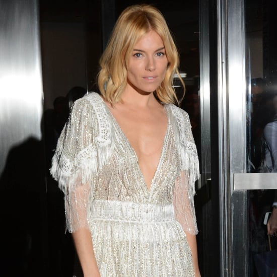 Sienna Miller in Rodarte Minidress