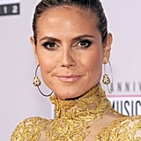 Heidi Klum attended the 2012 American Music Awards.