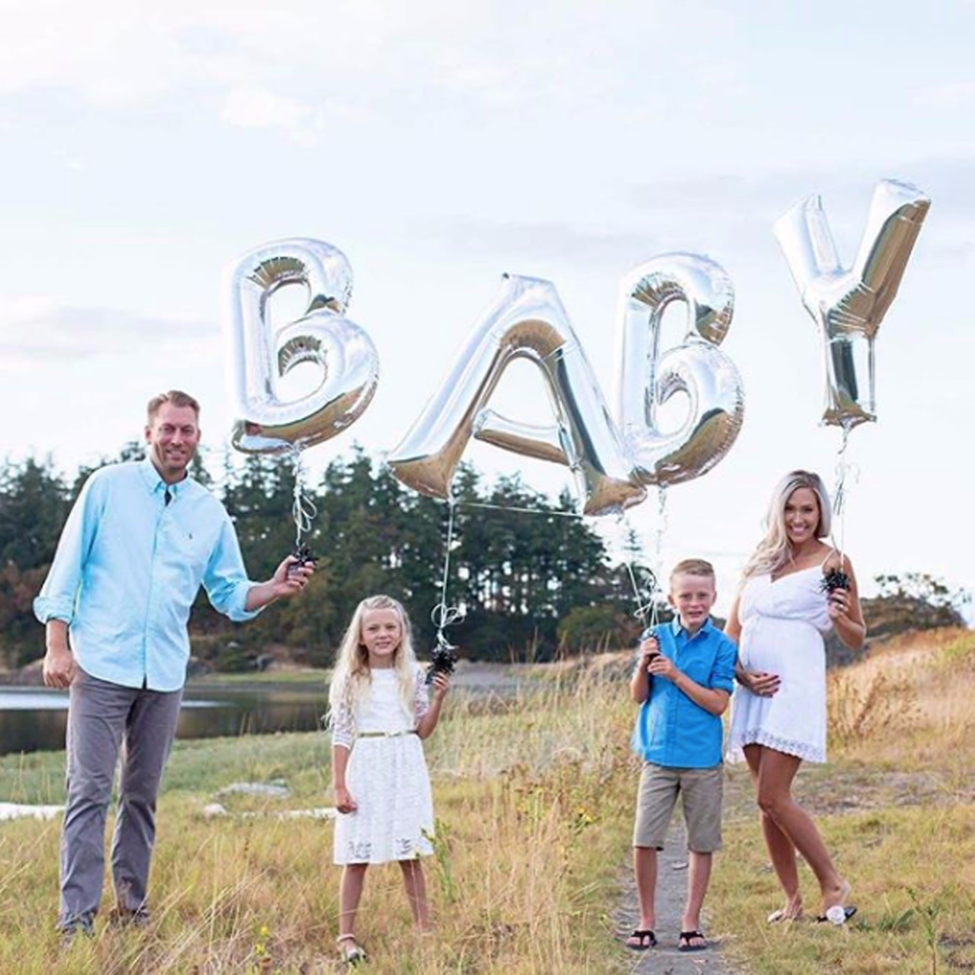 pregnancy announcement ideas if you already have kids popsugar family