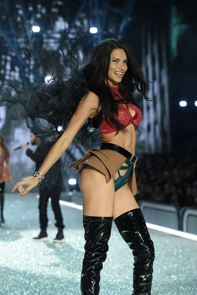 Adriana Lima on Victoria's Secret Fashion Show Runway 2016