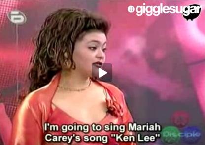"""Bulgarian Idol Sings Mariah Carey's """"Ken Lee"""""""