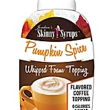 Jordan's Skinny Syrups Pumpkin Spice Whipped Foam Topping