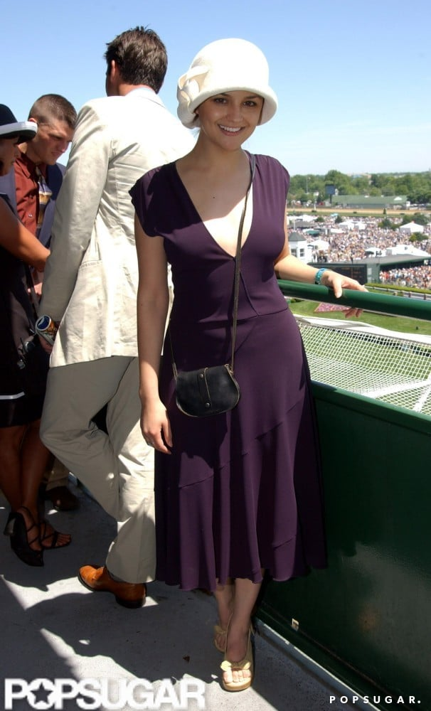 Rachael Leigh Cook soaked up the sun at the 2001 races.