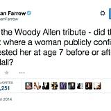 Ronan Farrow Spoke His Mind About Woody Allen