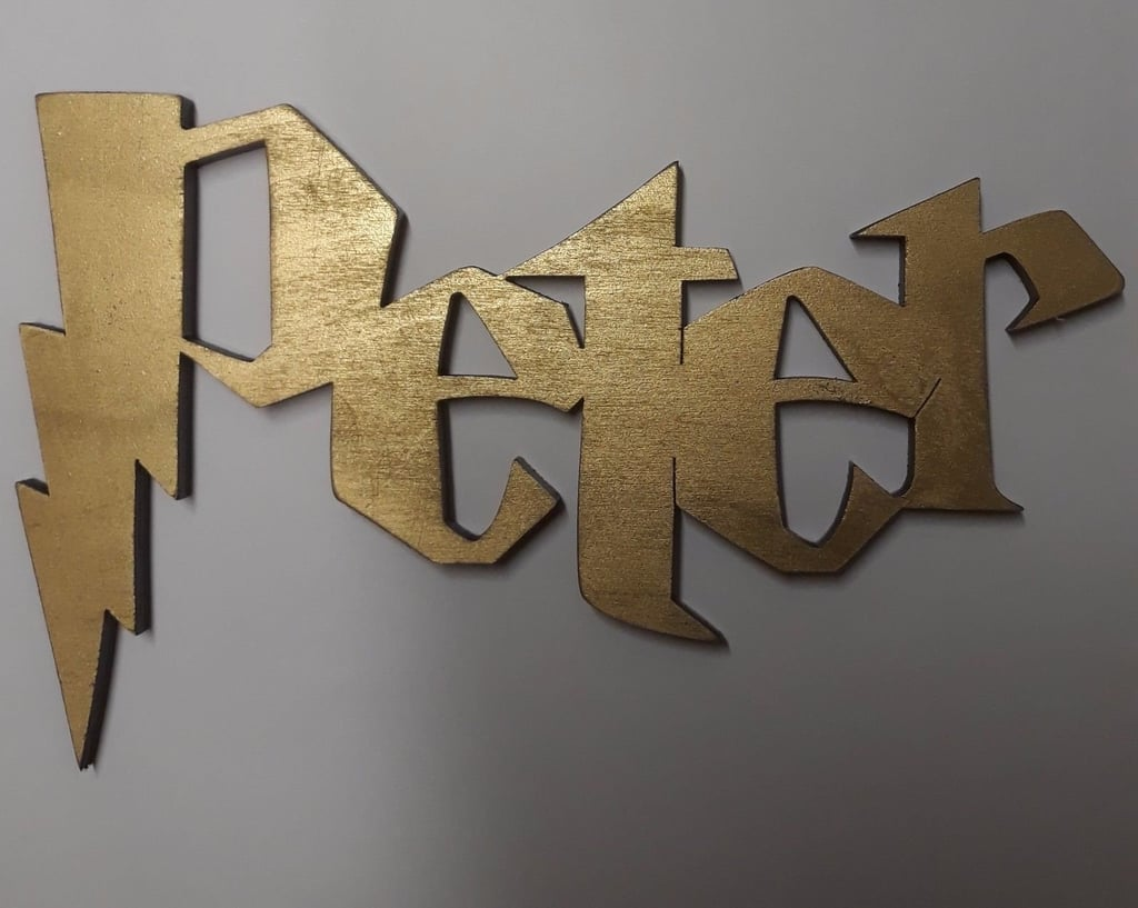 Harry Potter Name Sign