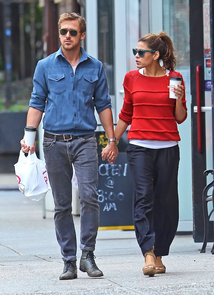 Ryan Gosling and Eva Mendes Holding Hands Pictures ...