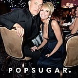Tom Hanks and Kristin Chenoweth sat together during the show.