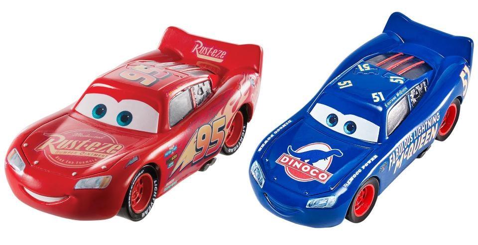 Disney Pixar Cars, Lightning McQueen and Fabulous Blue