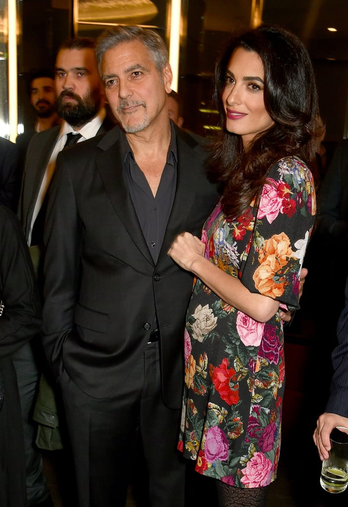 Amal Clooney Pregnancy Style