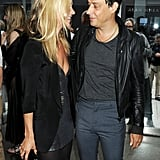 They gazed at each other lovingly while at an art exhibition in London in July 2011.