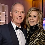 Pictured: Jane Fonda and Michael Keaton