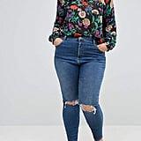 ASOS High-Waist Skinny Jeans