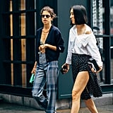 Leandra Medine (left) and Eva Chen (right)
