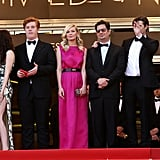 Kristen, Kirsten, Garrett and Their On the Road Gang Hit the Grand Palais at Cannes