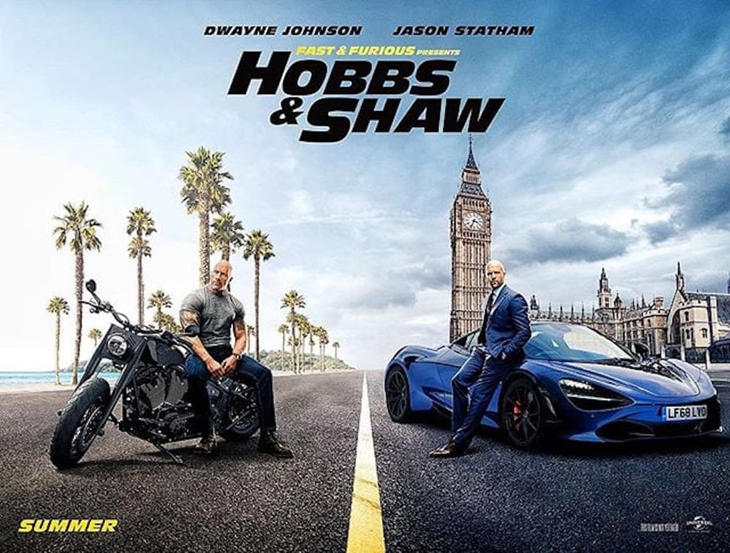 Movie Poster 2019: Hobbs And Shaw Movie Posters
