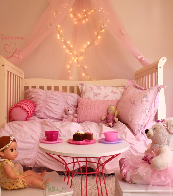 pink toddler bedroom tea time pink princess butterfly room for 12889