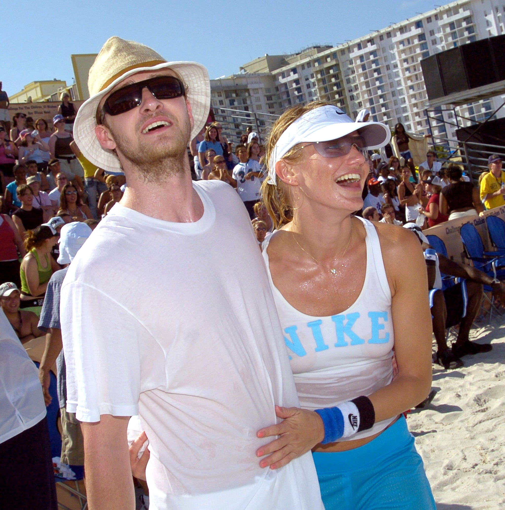 Meanwhile, Justin Timberlake and Cameron Diaz were dating.