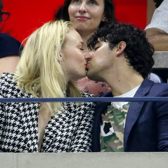 Sophie Turner and Joe Jonas at the US Open Sep 2018