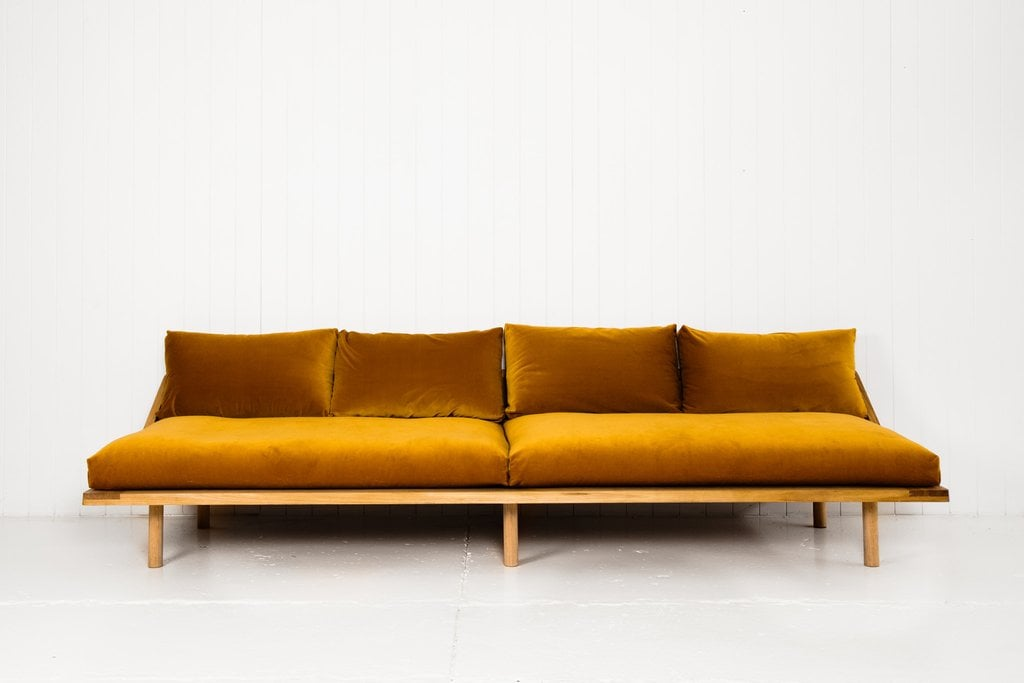 PS-Dreamer-Couch-Gold-Velvet-3930 Sugar S Sofa Home Design on home accessories, home bed designs, home changing table, home furniture, home media seating, home dining table, home entertainment center, home reading table, home lunch table, home iron table, home pub table, home coffee tables, home modern couch, home trash bin, home craft table,