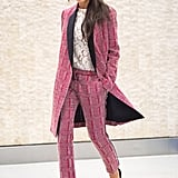 Victoria Wearing Her Resort 2016 Collection