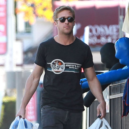 Ryan Gosling Leaving MMA Class Pictures