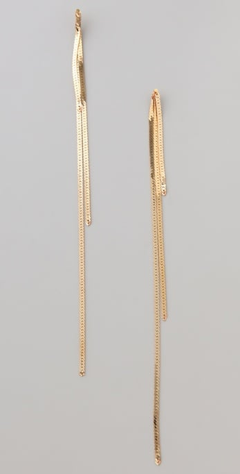 SereFinaVintage Shoulder Sweeper Earrings ($48)