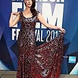 Anya Taylor-Joy at the London Film Festival in 2017