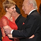 Christopher Plummer and Michelle Williams