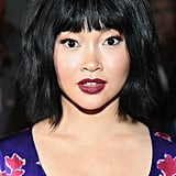 Lana Condor With Short Bangs