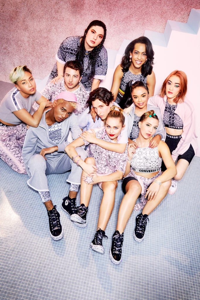 Miley Cyrus For Converse Collaboration  b3cff4a38
