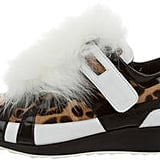 Pierre Hardy's Leopard Fur Sneakers ($345) are exactly what we picture when we think of a wild shoe.