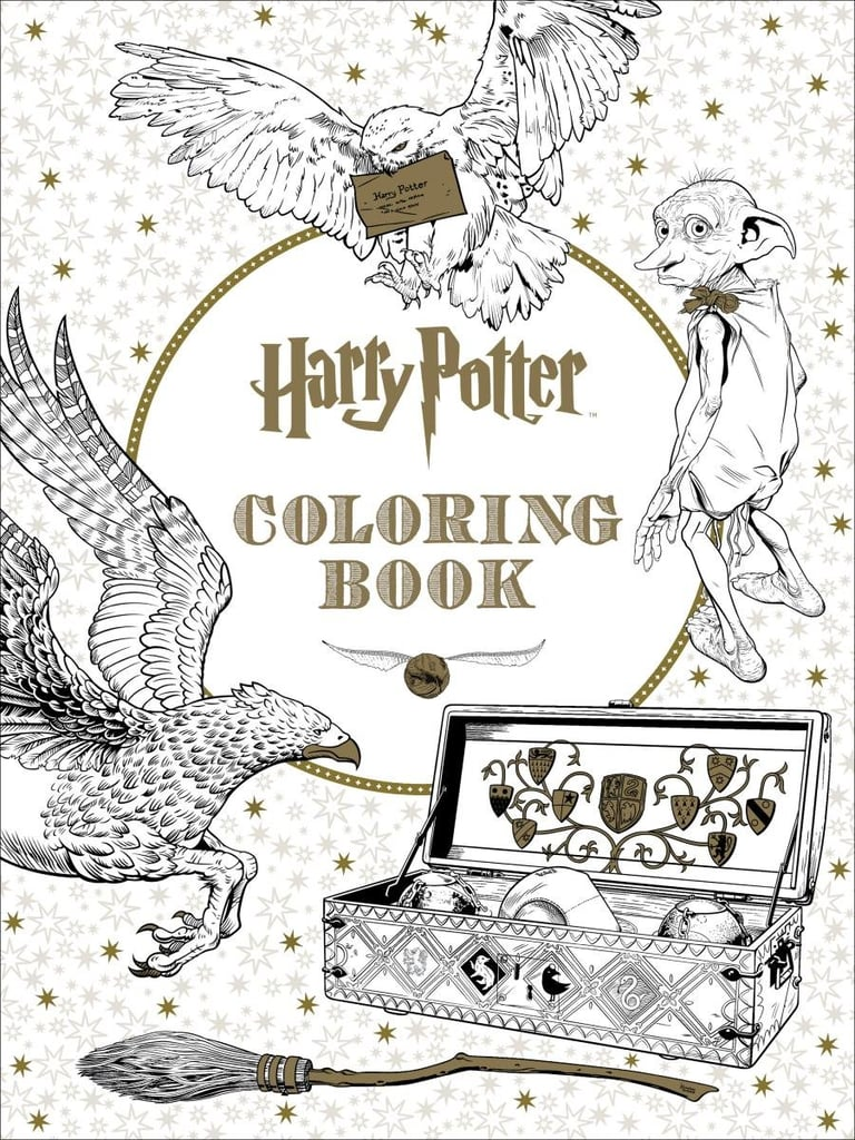 Harry Potter Coloring Book ($16)