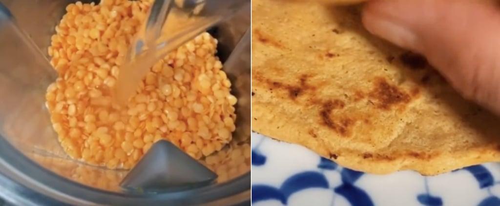 1-Ingredient Lentil Flatbread Recipe