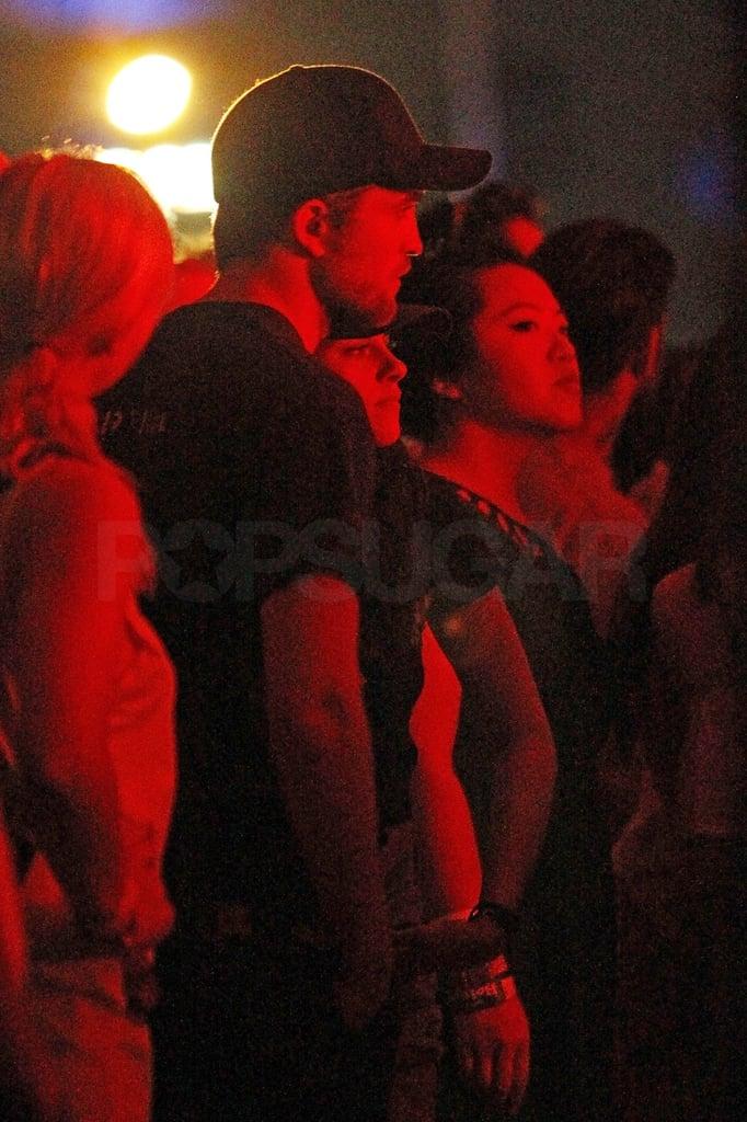 Robert Pattinson enjoyed performances at weekend two of Coachella.