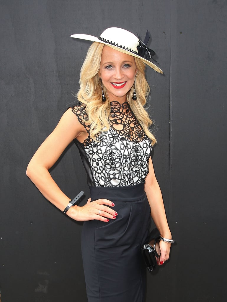 Carrie Bickmore, Derby Day 2011